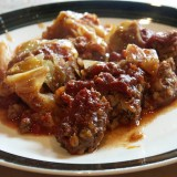 Slow Cooker Crock Pot Unstuffed Cabbage